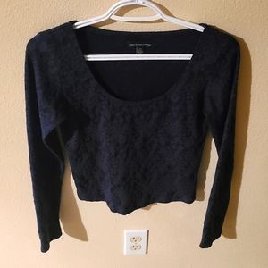 AEO American Eagle Outfitters L/S Crop